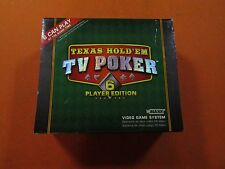 TV Poker Texas Hold em' Video Poker Game Night for up to 6 Players! Plug N Play