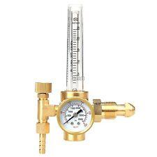Argon Co2 Gas Mig Tig Flow Meter Welding Weld Regulator Gauge Welder Cga580 Fits