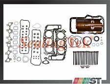 05-13 Dodge Jeep 3.7L Engine Full Gasket Set w/ Head Bolts V6 Power-Tech motor