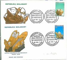 MINERALS - FDC COVER: MADAGASCAR 1971