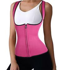 US Women Hot Neoprene Waist Trainer Body Shaper Corset Top Shapewear Gym Vest