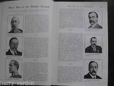 Olympic Games London Olympics Antique Edwardian Articles 1908 Lord Desborough