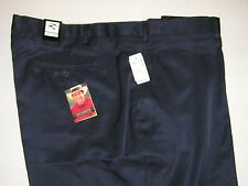 $99.50 New Jos A Bank Leadbetter performance golf shorts solid navy 50 W