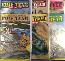 Fire Team #1-6 Set NM- 1st Print Free UK P&P Aircel Comics