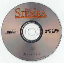 PC DOS: Gabriel Knight 1  + Earthsiege - CD Best of Sierra