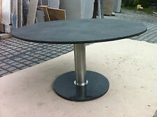 runder Säulentisch Wohnzimmer Terrassentisch Marmortisch Granittisch Gartentisch
