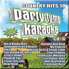 Various Artists - Party Tyme Karaoke: Country Hits 18 [New CD]