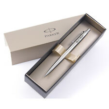 Personalised Engraved Parker Jotter Pencil - Stainless Steel Chrome Trim 0.5mm -