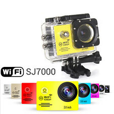 "SJ7000 2.0"" LCD WiFi Extreme Sports Action Helmet Camera FHD 1080P DV Camcorder"