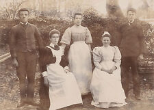 """Meet The Staff"" - Probably from Andover. c1920 Photograph by C.Howard, Andover"