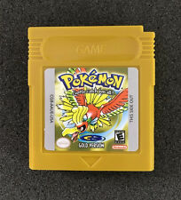 Nintendo Pokemon Game Card Gold Version For Game Boy Color Game Only A7