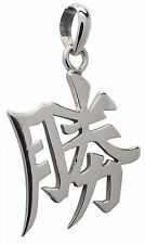 925 Sterling Silver SUCCESS Chinese Feng Shui PENDANT GIFT BOX Lucky Symbol