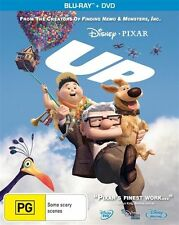 Up (Blu-ray, 2010, 2-Disc Set) 2 BLU RAY DISCS - NO DVD - AS NEW - AWESOME