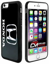 Cell Phone Case Covers Skin Clip for Apple iPhone 6 BLACK Honda Logo Black White