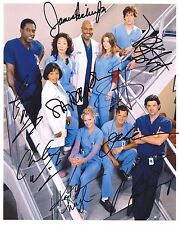 Greys Anatomy Cast Signed 8x10 Autographed Photo Reprint
