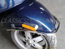 Vespa front fender mud guard bumper protector crash bar LX LX-V V8326