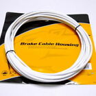 Jagwire 25 feet 5mm Brake Cable Housing with Lubricated inner Tube, White, E97