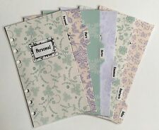 Filofax Personal Planner - Diary, Contacts, Personal Dividers - Fully Laminated