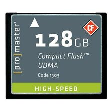 NEW ProMaster Professional 128GB 700x UDMA 6 Compact Flash CF Memory Card DSLR