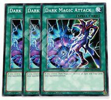 YGLD-ENC29 3x DARK MAGIC ATTACK (ATTACCO MAGO NERO) Common