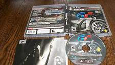 USED PS3 VIDEO GAME Gran Turismo 5 -- XL Edition (Sony PlayStation 3, 2012)