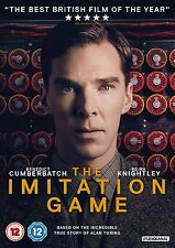 The Imitation Game Benedict Cumberbatch DVD Box Set New Sealed 5055201827401