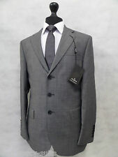 Men's Grey Jeff Banks London Suit 40R W34 L32 MV8220