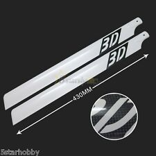 430mm Carbon Fiber Main Rotor Blades for Trex T-rex 500 Helicopter