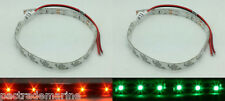 # RED GREEN LED NAVIGATION BOW LIGHTING STRIP LIGHT WATERPROOF KAYAK CANOE BOATS