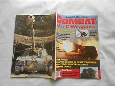 COMBAT WAR & WEAPONS MAGAZINE-VOL.1 # 1-1986--NEAR MINT +