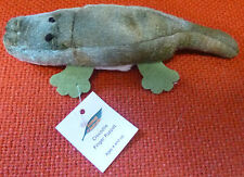 AUSTRALIAN ANIMAL GIFT CROCODILE Soft Material FINGER PUPPET - Pack of 6 Puppets