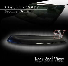 90-93 Acura Integra 2DR/3Dr Coupe DA5 Smoke Rear Roof Window Visor Spoiler Wing