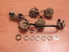 Gibson 1978 Nickel SG Electronic Control Pots Harness