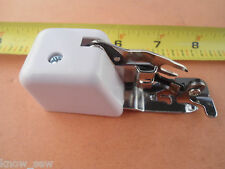 Genuine Singer Low Shank Side Cutter Foot Brother Babylock Elna Kenmore White