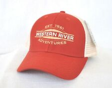 *WESTERN RIVER ADVENTURES MOAB* Whitewater Rafting Kayaking Trucker Ball cap hat