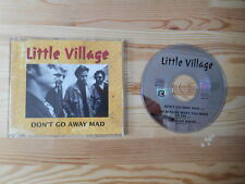 CD Rock Little Village - Don't Go Away Mad (3 Song) Promo REPRISE Cooder Lowe