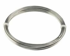 NEW! 100 FEET 12 GAUGE 2.0 MM STAINLESS STEEL ZINC FREE WIRE JEWELRY- BIRD TOYS