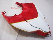 Rear Tail Fairing For DUCATI 848 1098 1198 R S Seat cover plastic Red/White