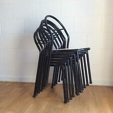 RENE HERBST Ed MOBILOR : Chaises Vintage Signées 1950 French Set Bauhaus Chair