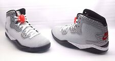 Nike Air Jordan Spike Forty PE Basketball Sneakers White Red Mens Size 10.5 NWOB