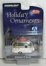 1:64 GreenLight *CHROME* Airstream 16' Bambi Camper *CHRISTMAS TRESS* ORNAMEMTS