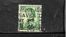 HONG KONG SC#205a 1967 15 CENTS OLD ELIZABETH II DEFINTIVE POSTALLY USED STAMP