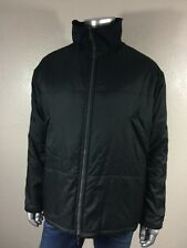ZEGNA Sport Men`s Full Zip Black Made In Italy Jacket Sz L