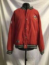 Disney Mickey Mouse American Original Since 1928 Red Stadium Jacket Kid XL