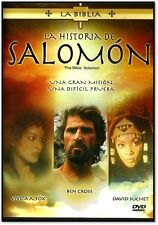 LA BIBLIA-La Historia De Salomon  NEW DVD AUDIO ESPANOL FACTORY SEALED
