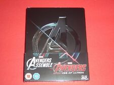Avengers #1 + #2 2D/3D Zavvi Exclusive Limited Steelbook Edition Limited 4,000