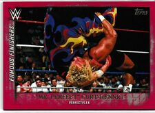 Mr. Perfect Curt Hennig 2015 Topps WWE Undisputed Famous Finishers Red # FF25