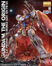 RX-78-2 Gundam Robot The Origin GUNPLA MG Master Grade 1/100 BANDAI Model Kit