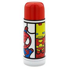 Disney Store Marvel Super Hero MXYZ Water Bottle Cup 12oz Spider Man Iron Man !