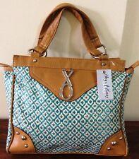 XOXO Turquoise Odyssey Satchel Bag